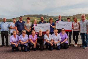 Local charities benefit from bumper charity donation from Ring of Beara Cycle 2018
