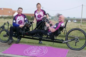 Mark Pollock and team hit the road in preparation for the Ring of Beara Cycle Kenmare 2019